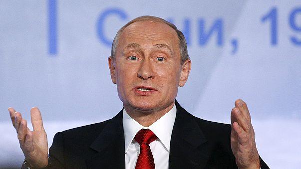 Putin: O super-herói da Rússia