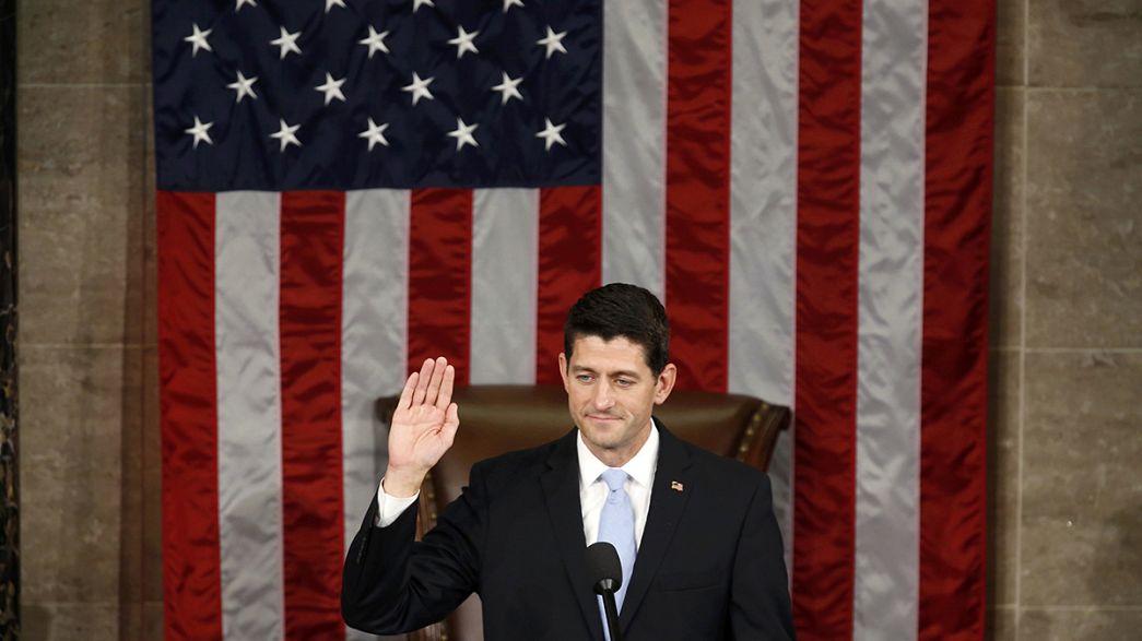 Paul Ryan becomes new US House speaker