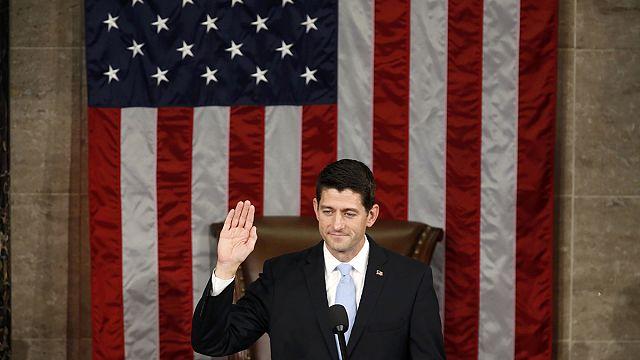 Etats-Unis : l'ultra-libéral Paul Ryan, le nouvel homme fort du Congrès, officiellement élu