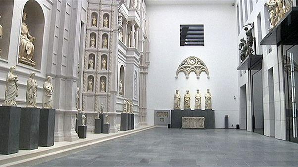Floransa'daki Duomo Katedral Müzesi kapılarını tekrar açtı
