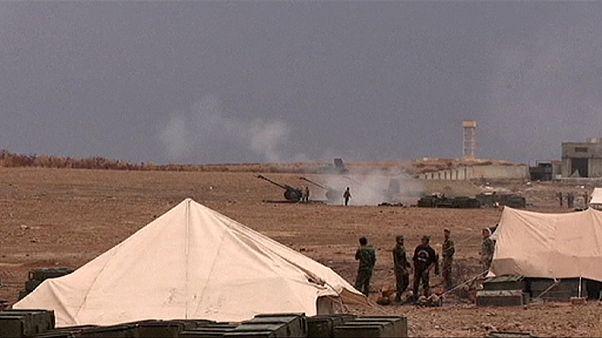 Сирия: наступление на позиции боевиков на севере провинции Хама