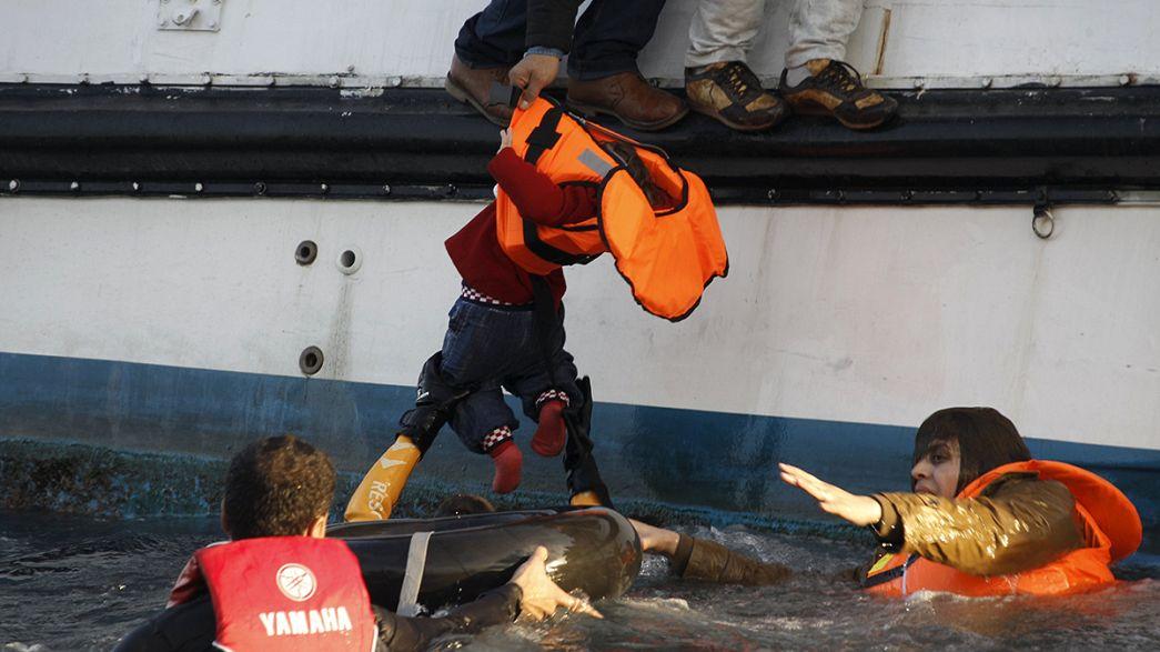 Une vingtaine de migrants meurent noyés en tentant de rejoindre la Grèce