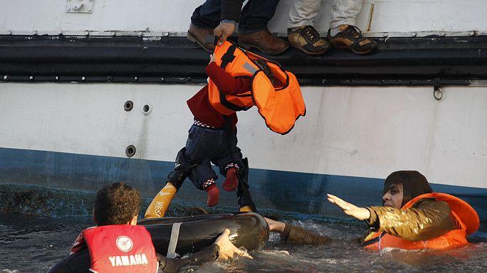 Újabb menekülttragédia az Égei-tengeren