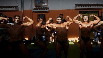 Bodybuilding in Gaza