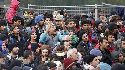Drame des migrants et chaos à la frontière slovène