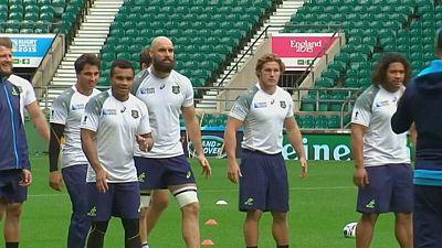 Duelo de titanes en la final de la Copa del Mundo de Rugby