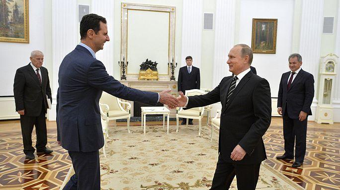 Esad 4 yıl sonra ilk kez yurt dışında