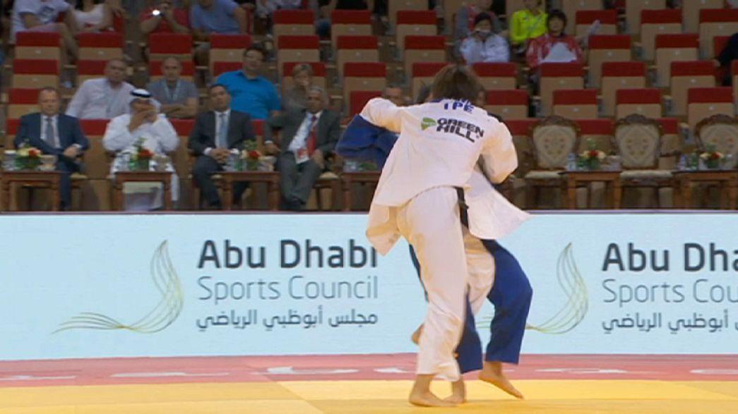 Grand Slam de Abu Dabi: Erika Miranda conquista prata