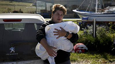 More refugees drown off Greek and Spanish coasts