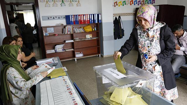 اليوم الاخير للحملات الانتخابية التركية