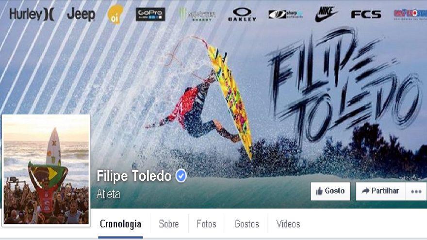 Surf: Brasileiro Toledo conquista Peniche e sobe à vice-liderança mundial
