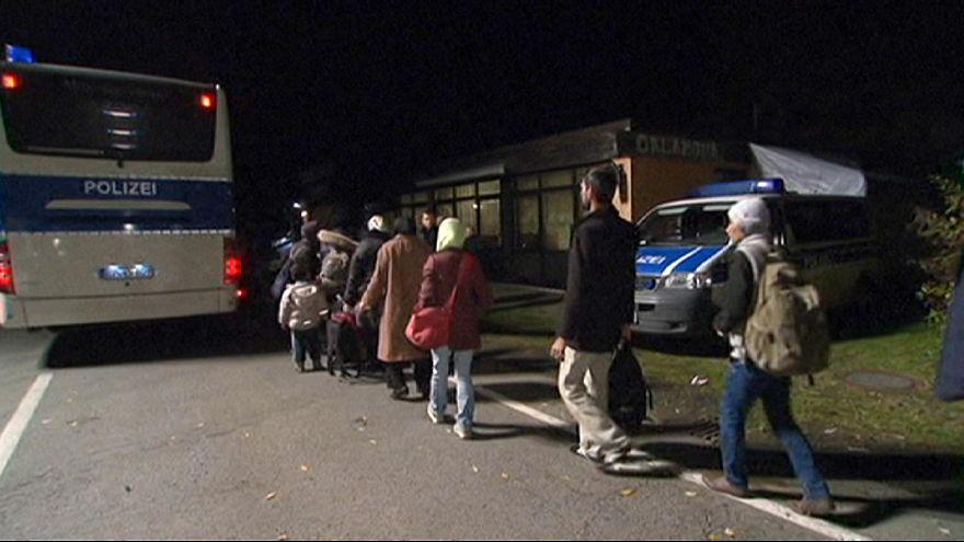 Alemania ordena la llegada de inmigrantes en su frontera con Austria