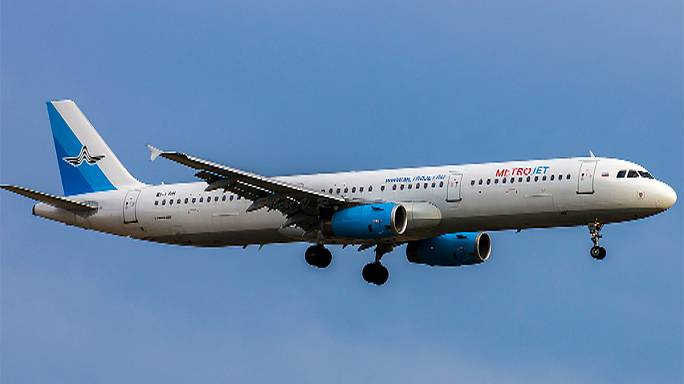 Russian passenger plane reported crashed in Egypt's Sinai desert