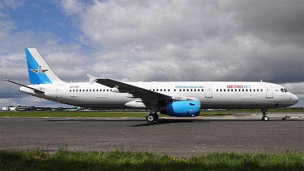Mısır'da düşen yolcu uçağının enkazına ulaşıldı