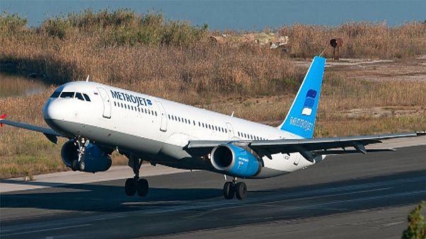 هواپیمای روسی با ۲۲۴ سرنشین در مصر سقوط کرد