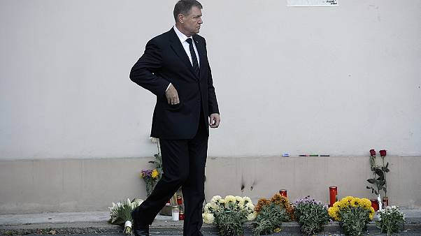 Rumania declara 3 días de luto nacional por las víctimas del incendio de la discoteca Colectiv de Bucarest