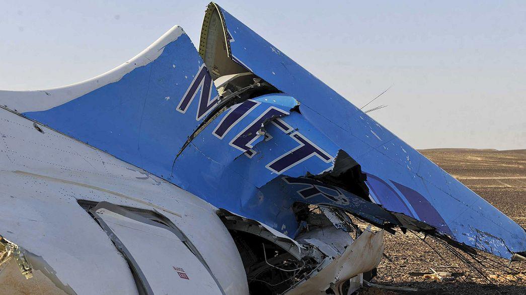 """Rusia y Egipto descartan que el avión ruso siniestrado en el Sinaí haya sido """"derribado"""""""