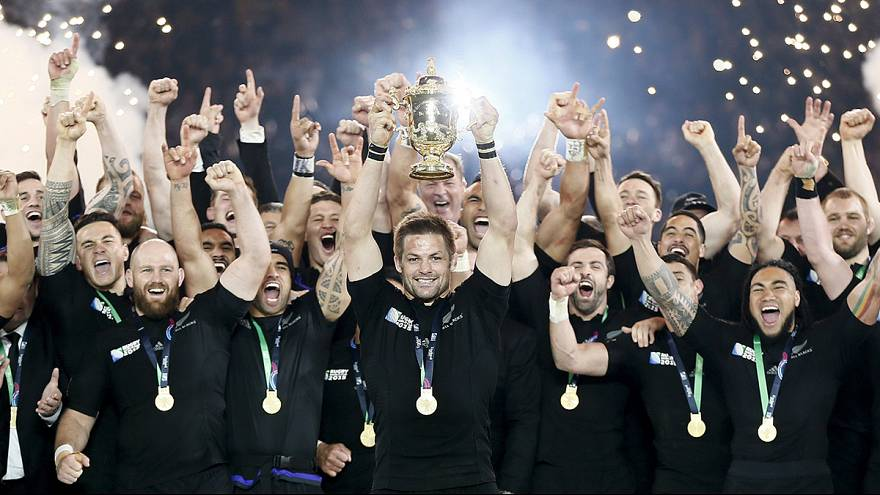 نيوزلندا تفوز بكأس العالم للرغبي على حساب أستراليا
