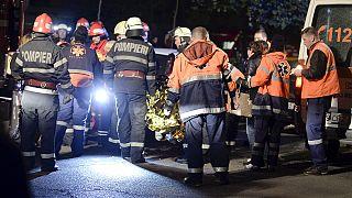 گفتگوی یورونیوز با شاهد عینی حادثه آتش سوزی در بخارست