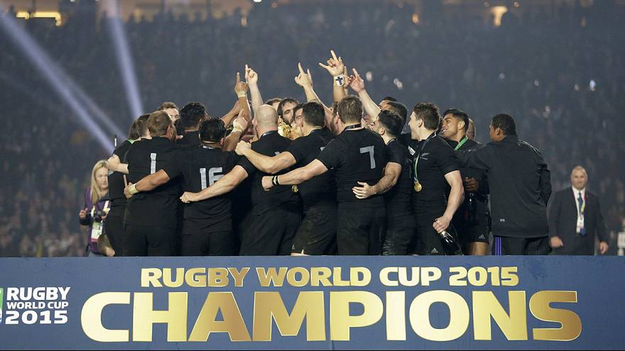 Rugby World Cup 2015: New Zealand crowned champions with 34-17 win over Australia