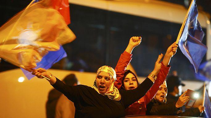 AKP regains grip on power in Turkey as HDP scrapes through