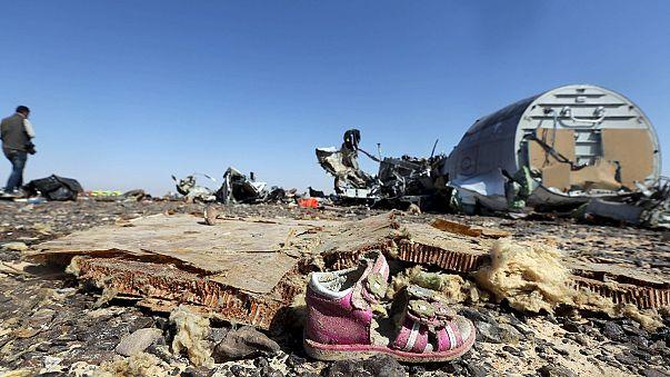 Még a levegőben széteshetett a lezuhant orosz gép