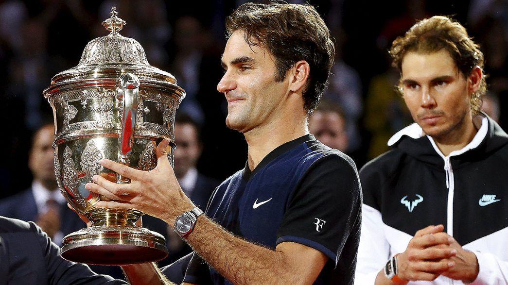 "Federer volta a sagar-se ""Rei de Basileia"""