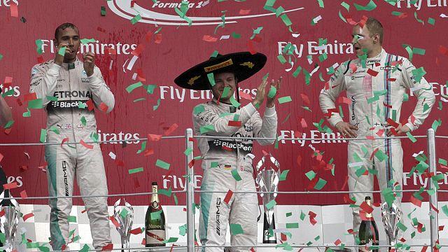 """Нико Росберг выиграл """"Гран-при Мексики"""", Даниил Квят - четвертый"""