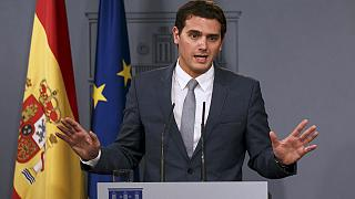 Spanish political newcomer Ciudadanos gaining on ruling PP