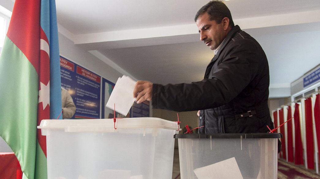 Aserbaidschan: Partei von Präsident Alijew gewinnt Parlamentswahlen