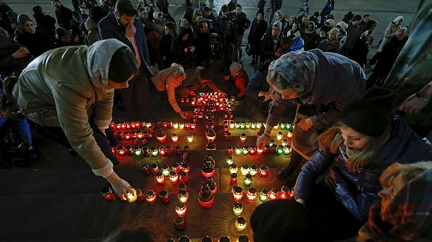 The Russian remains of Sinai crash victims are flown home