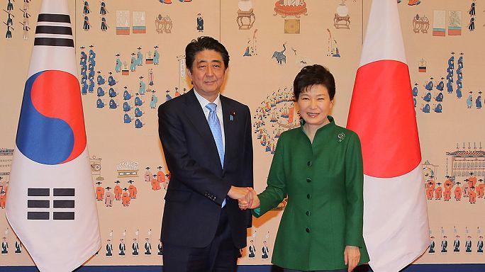 """Япония и Южная Корея намерены решить проблему """"женщин для утешения"""""""