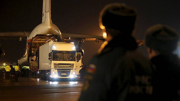 Sinai plane crash: first bodies arrive back in Russia