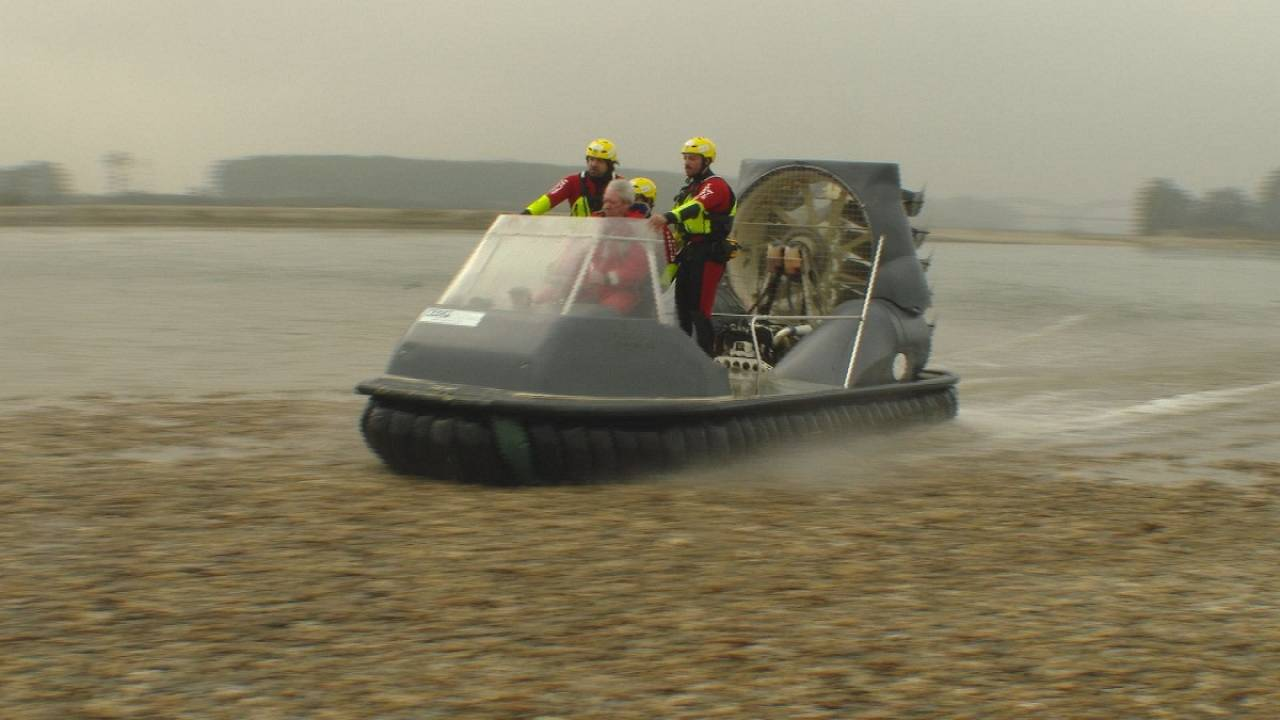 Hovercraft innovation: multi-tasking on a cushion of air
