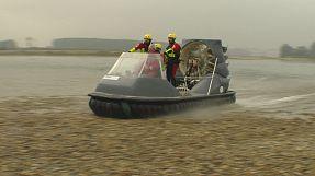 Un proyecto europeo promueve los aerodeslizadores para situaciones de emergencia