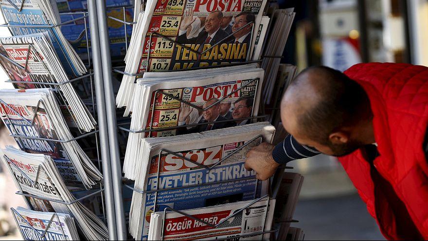 Elcsitultak hétfőre a vasárnapi kurd zavargások Törökországban