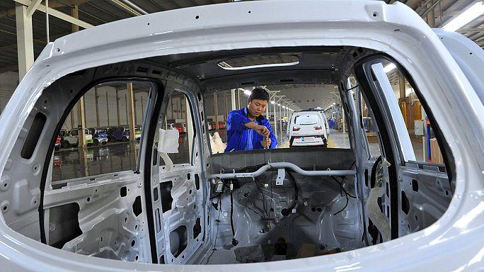 أنشطة التصنيع في الصين تسجل انكماشا