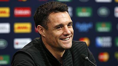 """El """"All Black"""" Dan Carter es elegido como mejor jugador del año de rugby"""