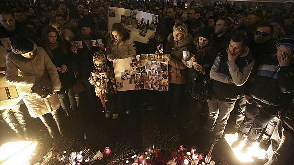 Rus yolcu uçağında ölenlerin son fotoğrafları