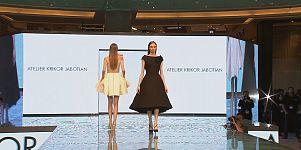 Dubai: Modenschau in der Shopping Mall