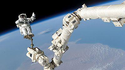 15 ans de présence humaine dans l'ISS, ça se fête !