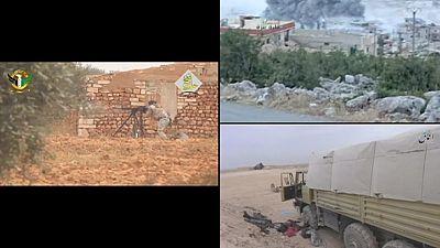 Cidade síria de Alepo bombardeada pela aviação russa