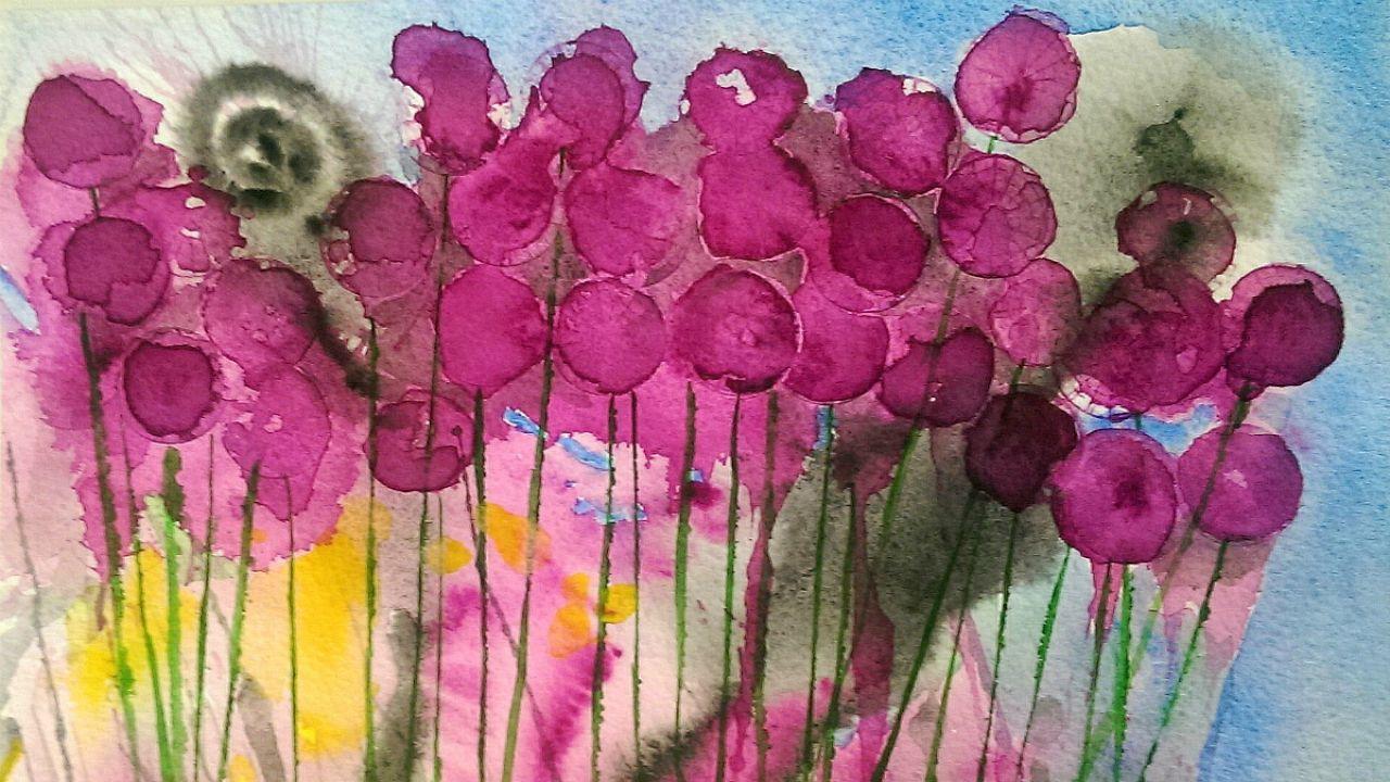 Egy hét alatt rendezett kiállítást Londonban Czibi Róbert festőművész