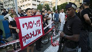 Elderly Israelis wounded in latest Middle East stabbings
