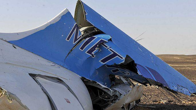 Las cajas negras deberían despejar incógnitas en torno al avión ruso estrellado en el Sinaí