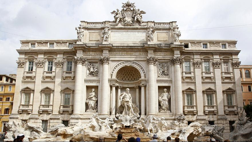 The Trevi Fountain and the Dolce Vita!