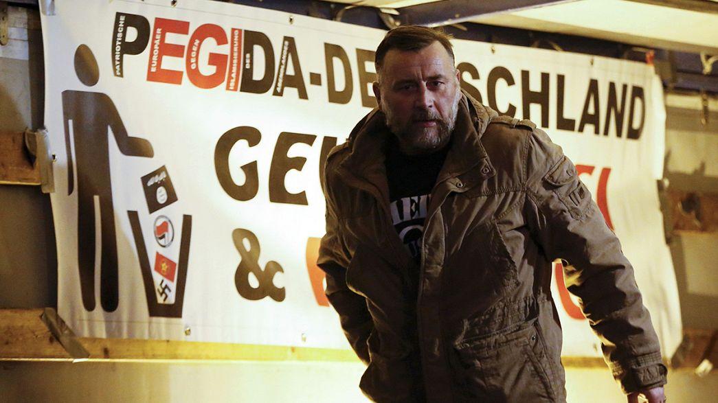 Pegida: German Justice Minister likened to Goebbels