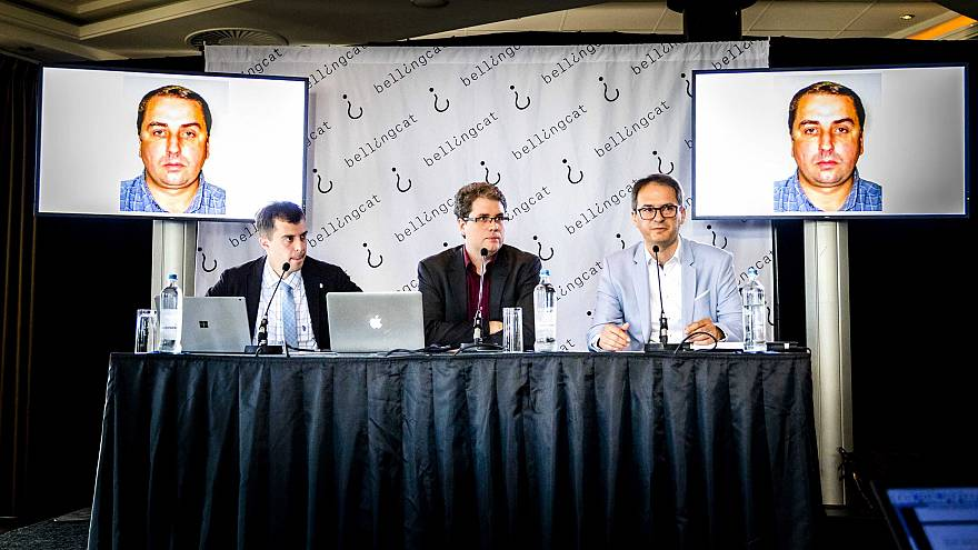 Image: Bellingcat collective research presser on Malaysia Airlines flight M