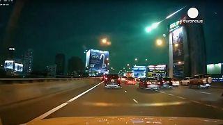 Βροχή μετεωριτών στην Ταϊλάνδη - Βίντεο