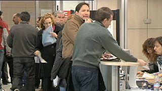 Desemprego sobe em Espanha